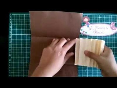 Reto 2.11: Cómo Hacer una Carterita-Scrapbook - LFDL.