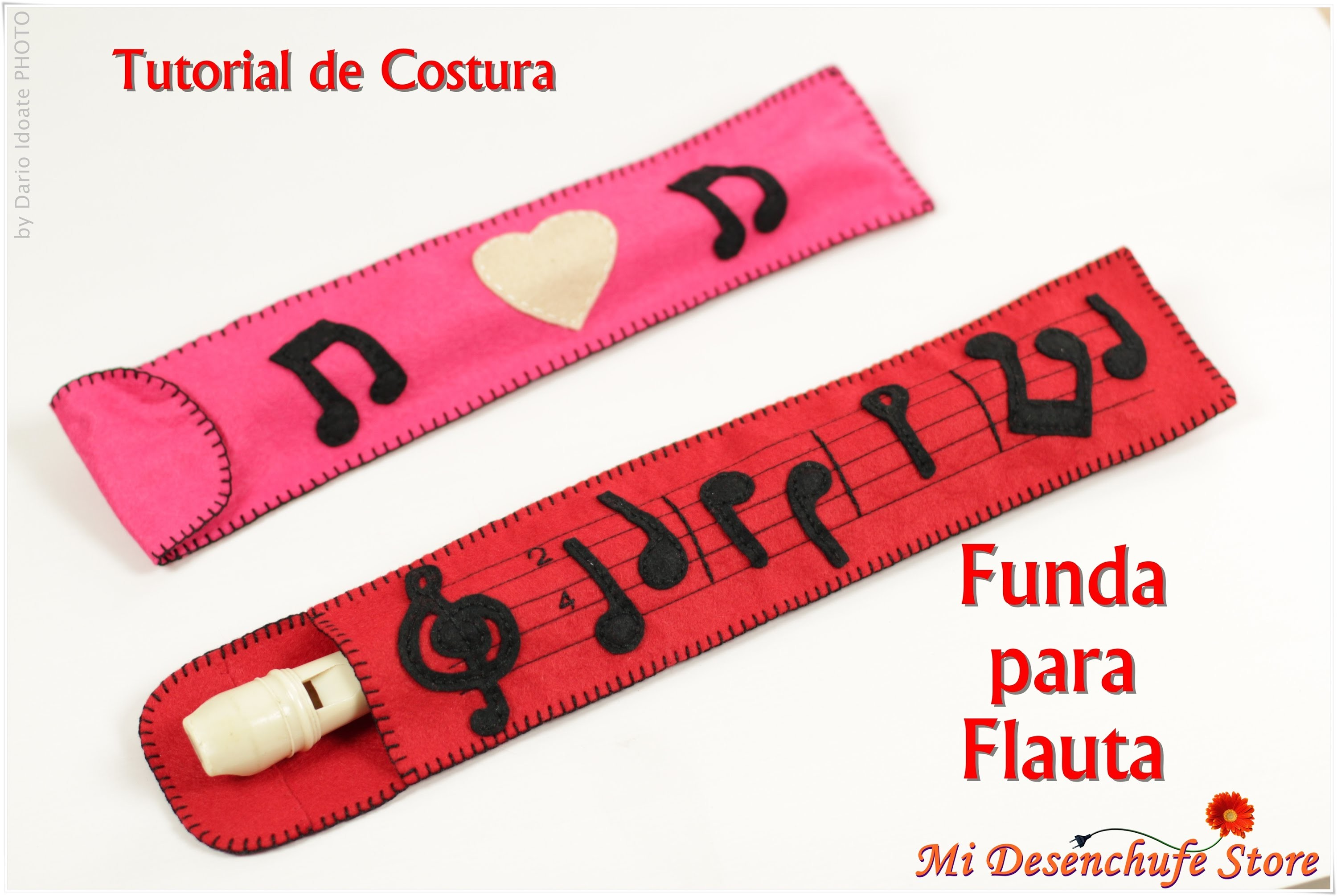Tutorial #13 - Como hacer una Funda para Flauta - How to make a case for flute