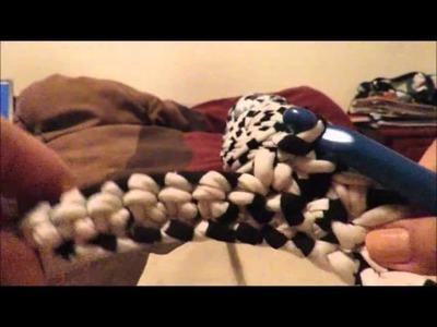 Tutorial hamaca a crochet para hurón