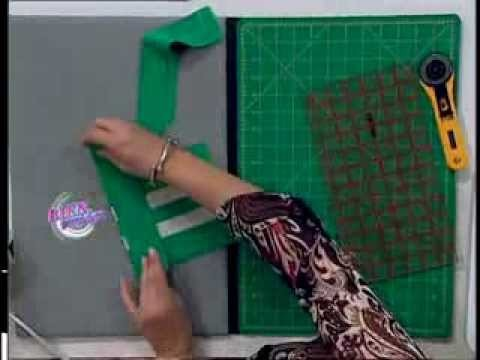 Carolina Rizzi - Bienvenidas TV - Bolsa Ecológica en Patchwork