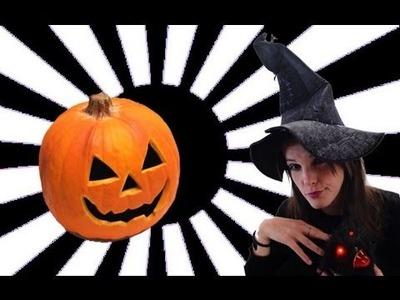 Cómo hacer una calabaza de #Halloween geek pumpkin Brico #Videorama