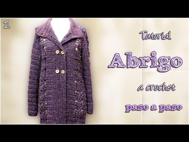 DIY Abrigo a crochet, paso a paso (1 de 2)