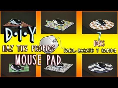 DIY: MOUSE PAD | FÁCIL Y RÁPIDO