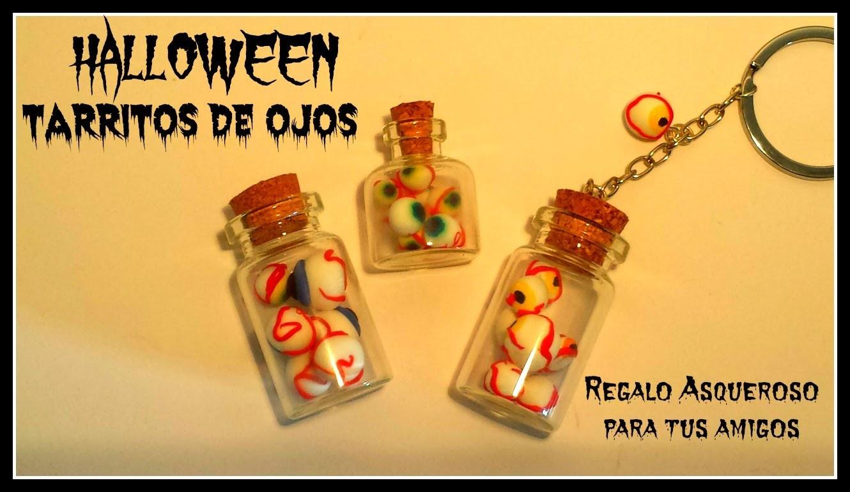 ☆ HALLOWEEN: TARRITOS DE OJOS ASQUEROSOS. es.PandaHall.com ☆