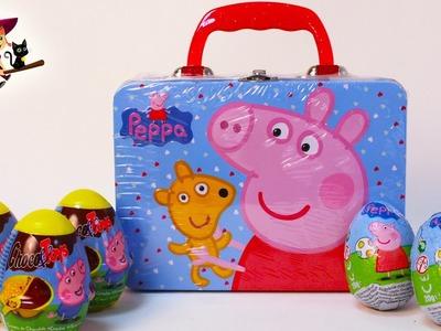 Huevos Sorpresa de Peppa Pig más una Caja de Peppa con Sorpresa