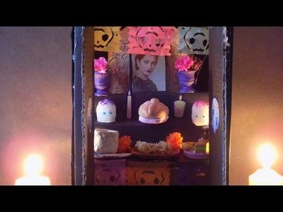 Mini altar para día de muertos