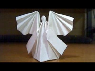 Origami ángel, como hacer ángel de origami paso a paso