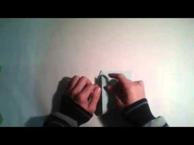 Origami para principiantes  #4 Como hacer un vaso de papel facil    [Origami - Papiroflexia]