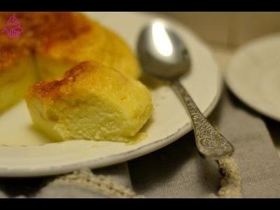 Tarta de queso en el microondas. Repostería