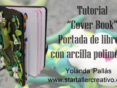 Tutorial cubierta de libreta de arcilla polimérica (cover book)