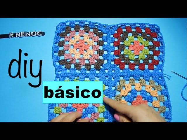 Unir Cuadros o Tejidos Ganchillo, Crochet Joining sew Diy