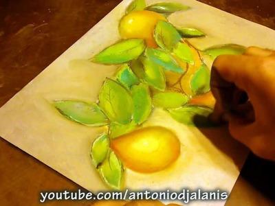 Aprendiendo a Pintar Mangos