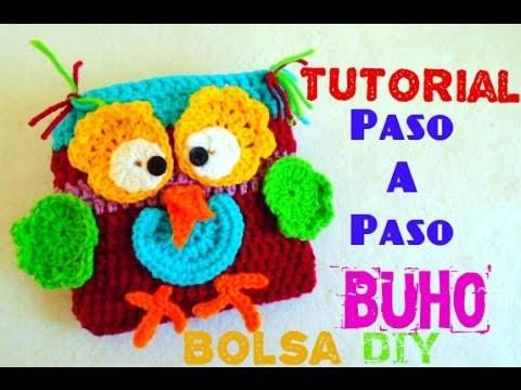 Buho!!! - Bolsa Búho para niñ@s!! TEJIDO A CROCHET