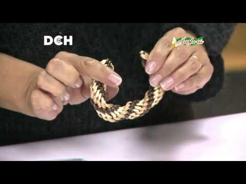 Collar con telar Kumihimo - Yasna Pino - Casa Puchinni