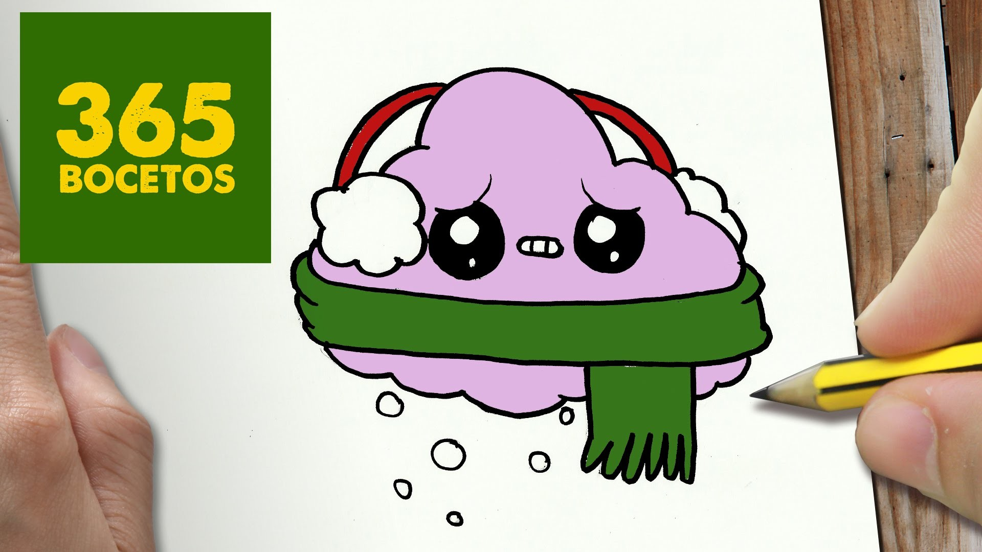 Como Dibujar Un Cuaderno Para Navidad Paso A Paso Dibujos: COMO DIBUJAR UN NUBE PARA NAVIDAD PASO A PASO: Dibujos