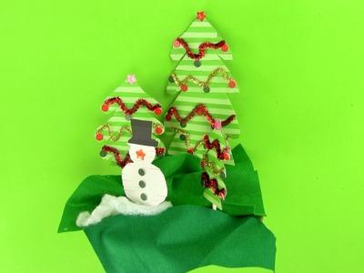 Cómo hacer un decorado de Navidad paso a paso