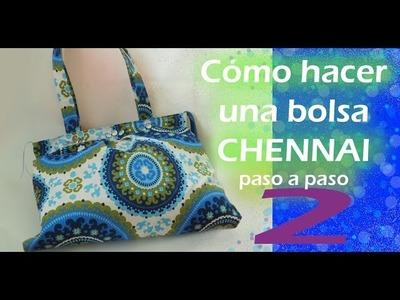 Cómo hacer una bolsa de tela. CHENNAI. paso a paso. TUTORIAL. parte 2. Inerya viris