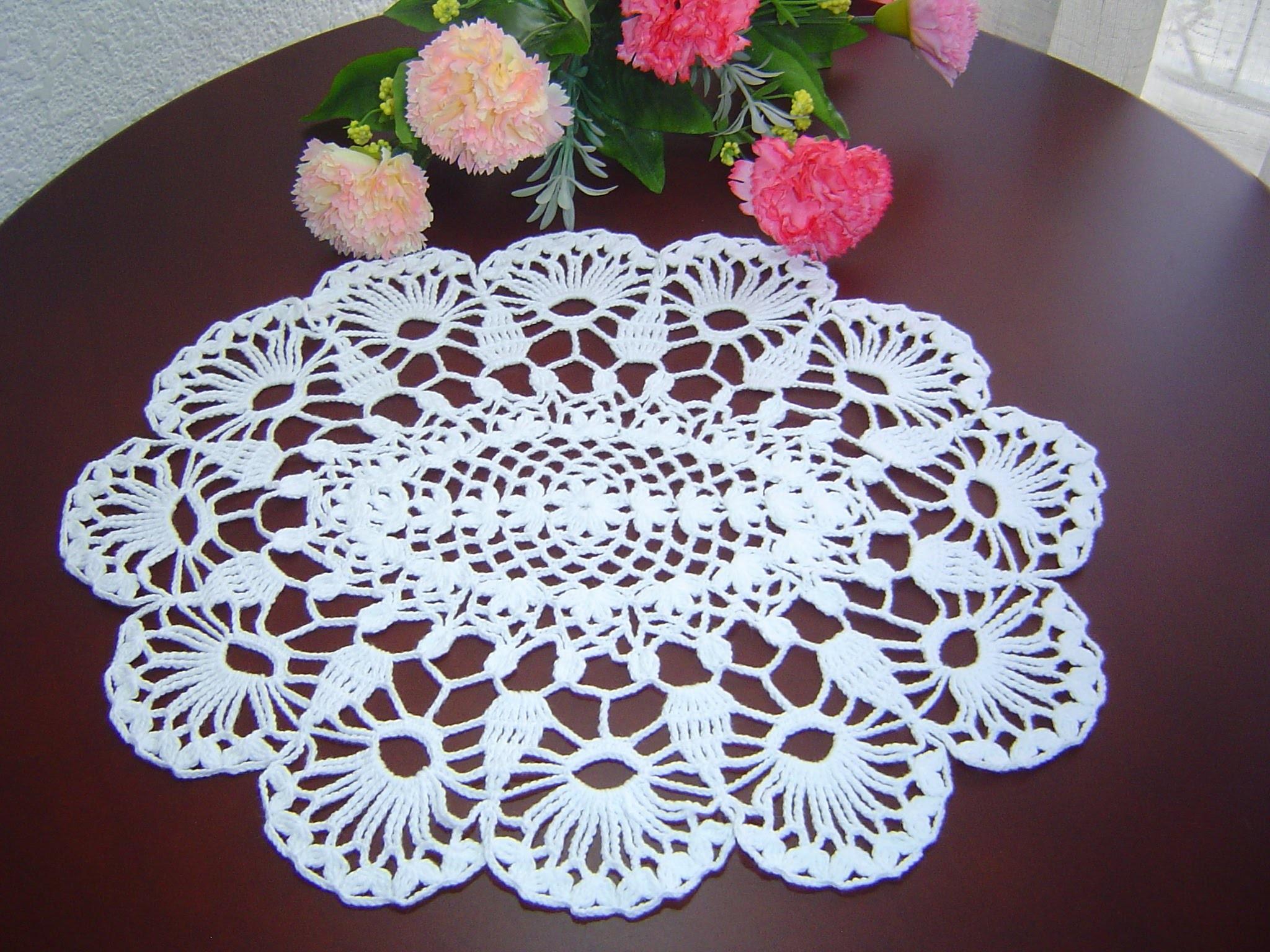 Como Tejer Carpeta o Centro de Mesa a crochet paso a paso DIY 3.3