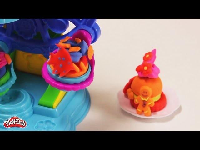 Cupcakes coloridos con plastilina (Hellokids)