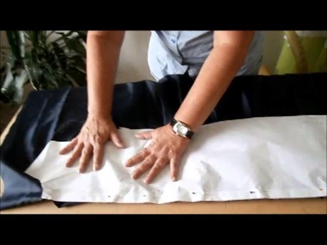 Curso Manos de Seda de Mujermistica - Clase No. 2 Vestido Drapeado Parte 2.2