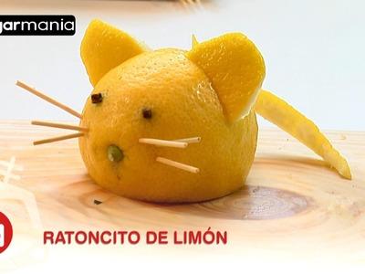 Decoración con frutas: Cómo hacer un ratón con un limón