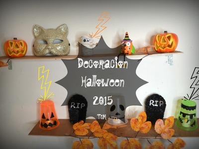 Decoración para Halloween.Día de Muertos.Mon♥