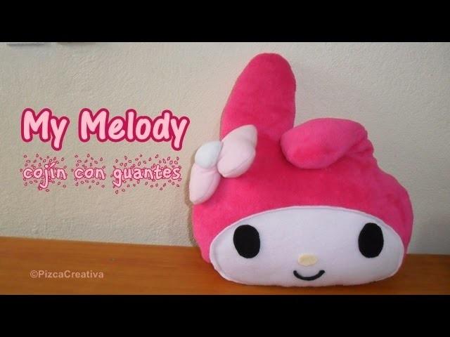 DIY de Invierno: Cojin con guantes de My Melody. MOLDES GRATIS