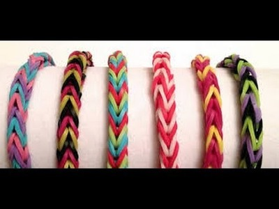 DIY - Pulseras de Ligas-Gomitas {SUPER FACIL}. Loom Bands
