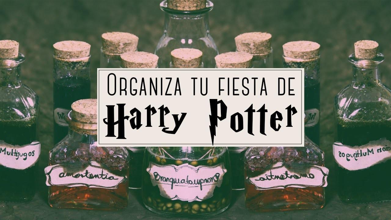 Ideas para una fiesta de HARRY POTTER. Semana del terror ✎ Craftingeek