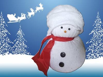 Muñeco de Nieve - Adorna la Navidad