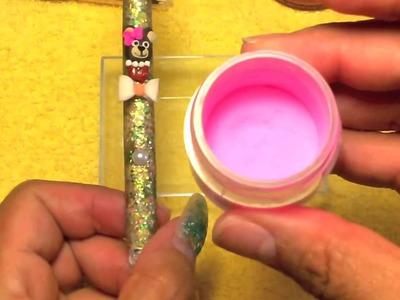 Cómo decorar tu pincel (Acrílico)