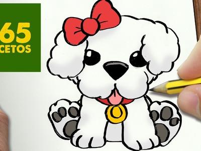 COMO DIBUJAR UN PERRITO DULCE PASO A PASO: Os enseñamos a dibujar un perro fácil para niños
