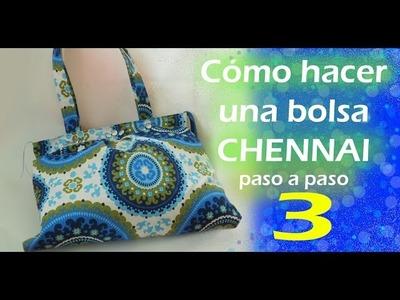 Cómo hacer una bolsa de tela. CHENNAI. paso a paso. TUTORIAL. parte 3. Inerya viris