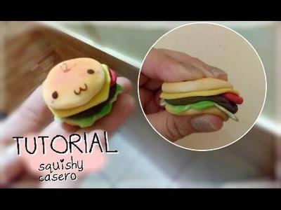 DIY Squishy hamburguesa