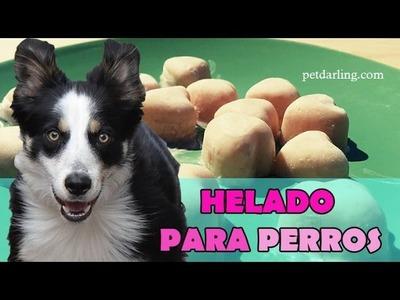 HELADO PARA PERROS casero (Yogur & Plátano). ★ RECETA ★ PetDarling