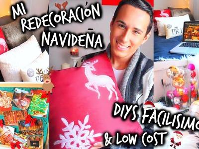 ❆ ¡Mi Redecoración Navideña! 2014 + Decoraciones DIY Facilísimas & Low Cost ☃