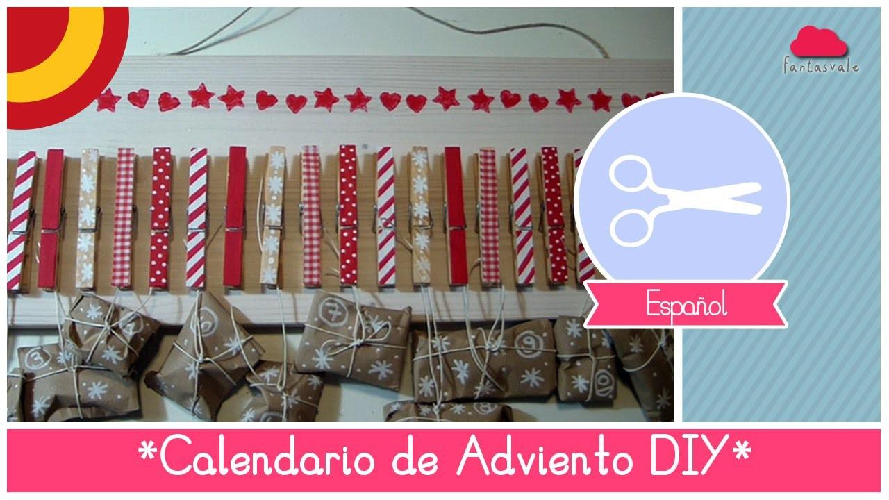 Manualidad de navidad como hacer un calendario de for Calendario de adviento casero