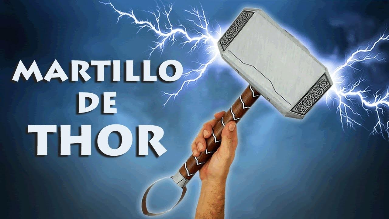 Martillo de Thor o Mjolnir, cómo se hace