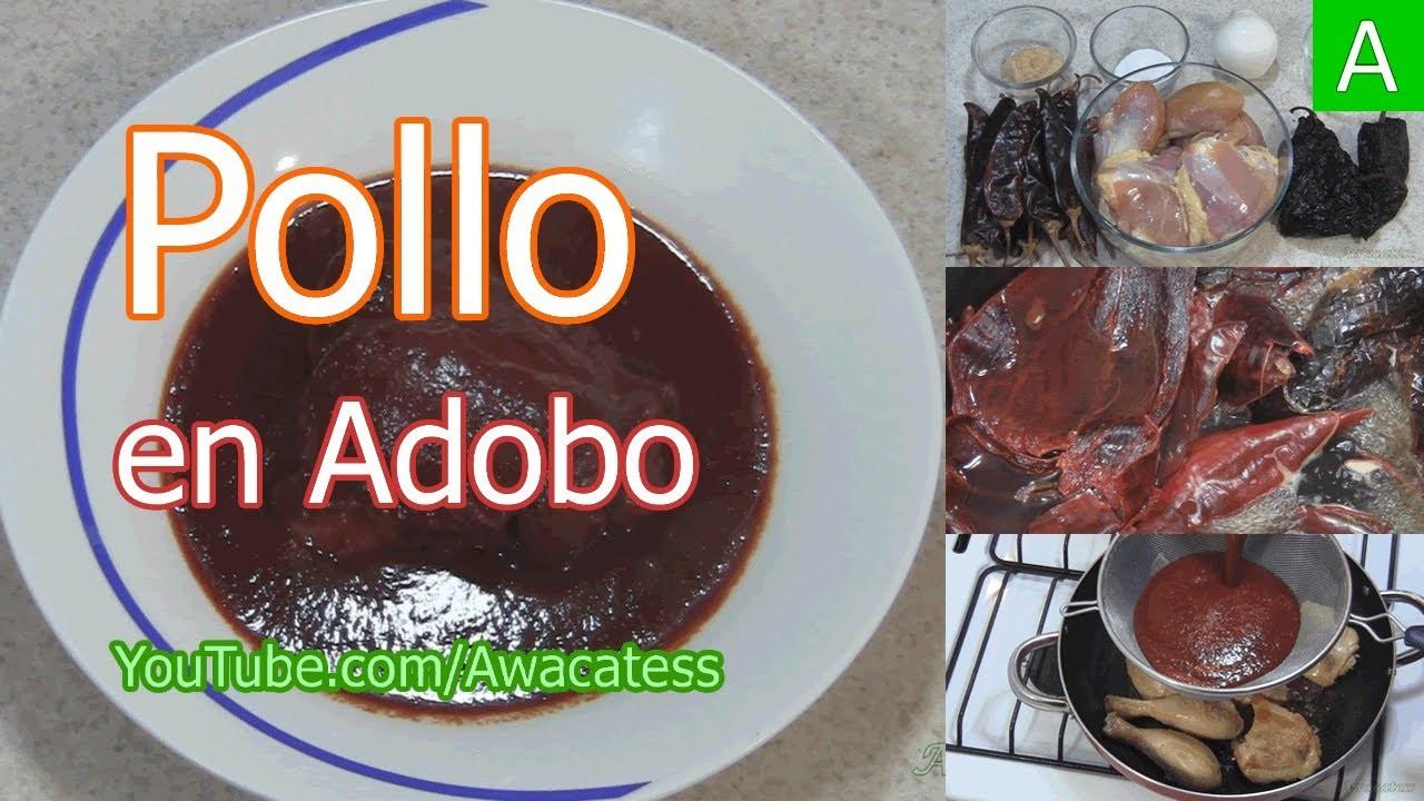 Pollo en Adobo, Receta de Pollo Adobado, Como hacer Pollo en Adobo, Receta de Pollo en Adobo