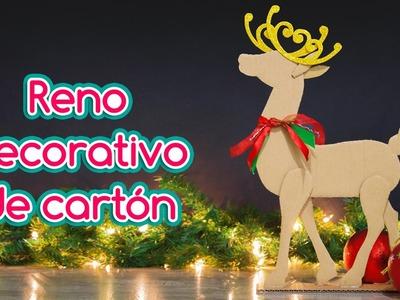 RENO navideño de CARTÓN | ESPECIAL DE NAVIDAD (ep 2)