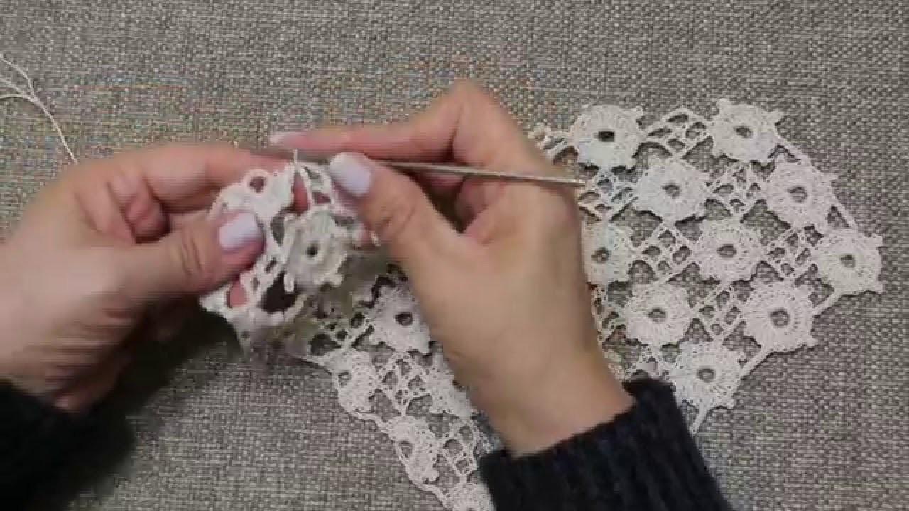 Tejido con Circulos Crochet parte 2 de 2