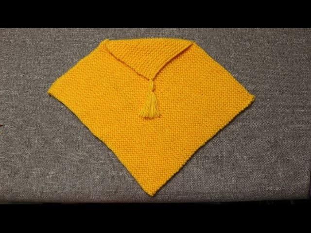 Capa para Niña Crochet