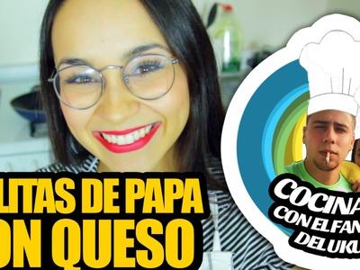 Cocinando Con el Fantasma: Bolitas de Papa con Queso