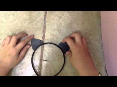Como hacer orejas de gato (de Ariana Grande)