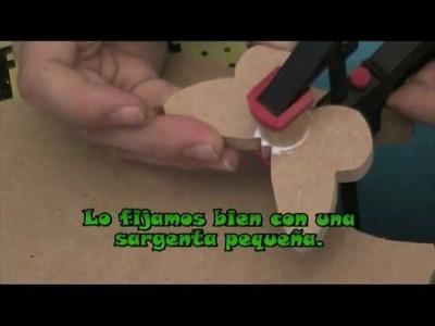 Cómo hacer TIRADORES para muebles EN DM