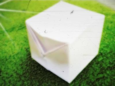 Cómo hacer un Cubo Inflable de Papel - Origami