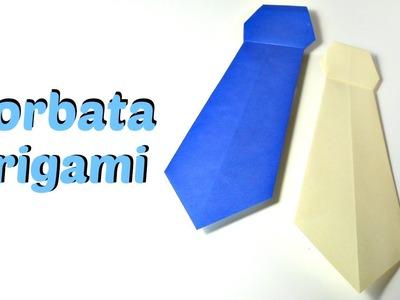 Cómo hacer una corbata de origami | Mundo@Party
