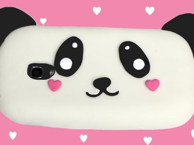 Cómo hacer una funda para móvil de silicona de Panda