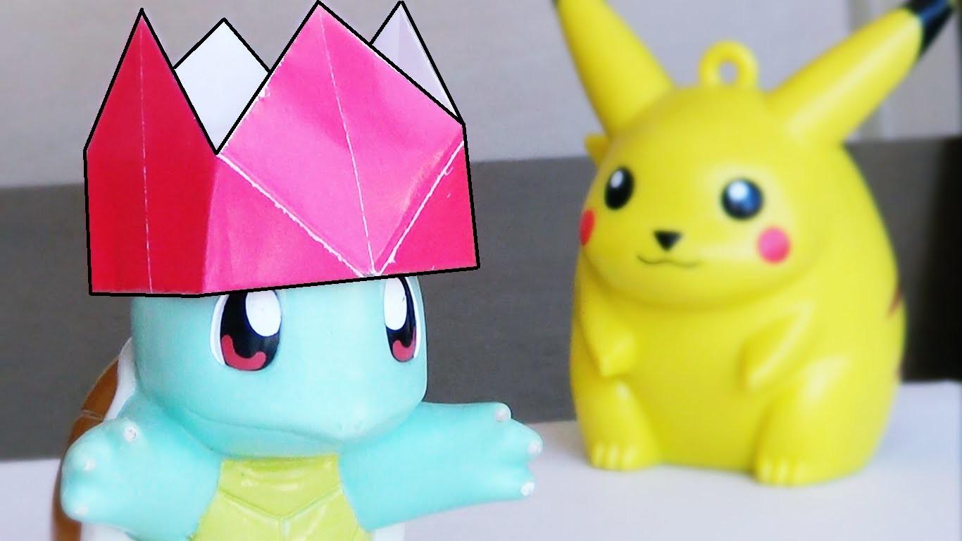 Corona de Papel para el REY Pokemon!
