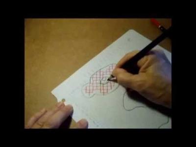 Curso de bordado básico 29: Hacer plantillas sencillas para punto de cruz
